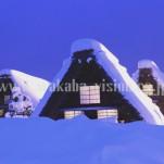 冬の白川郷(pho-2013wi-0097)