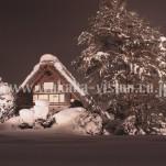 冬の白川郷(pho-2013wi-0101)