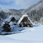 冬の白川郷(pho-2013wi-0111)