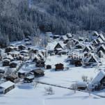 冬の白川郷(pho-2013wi-0113)